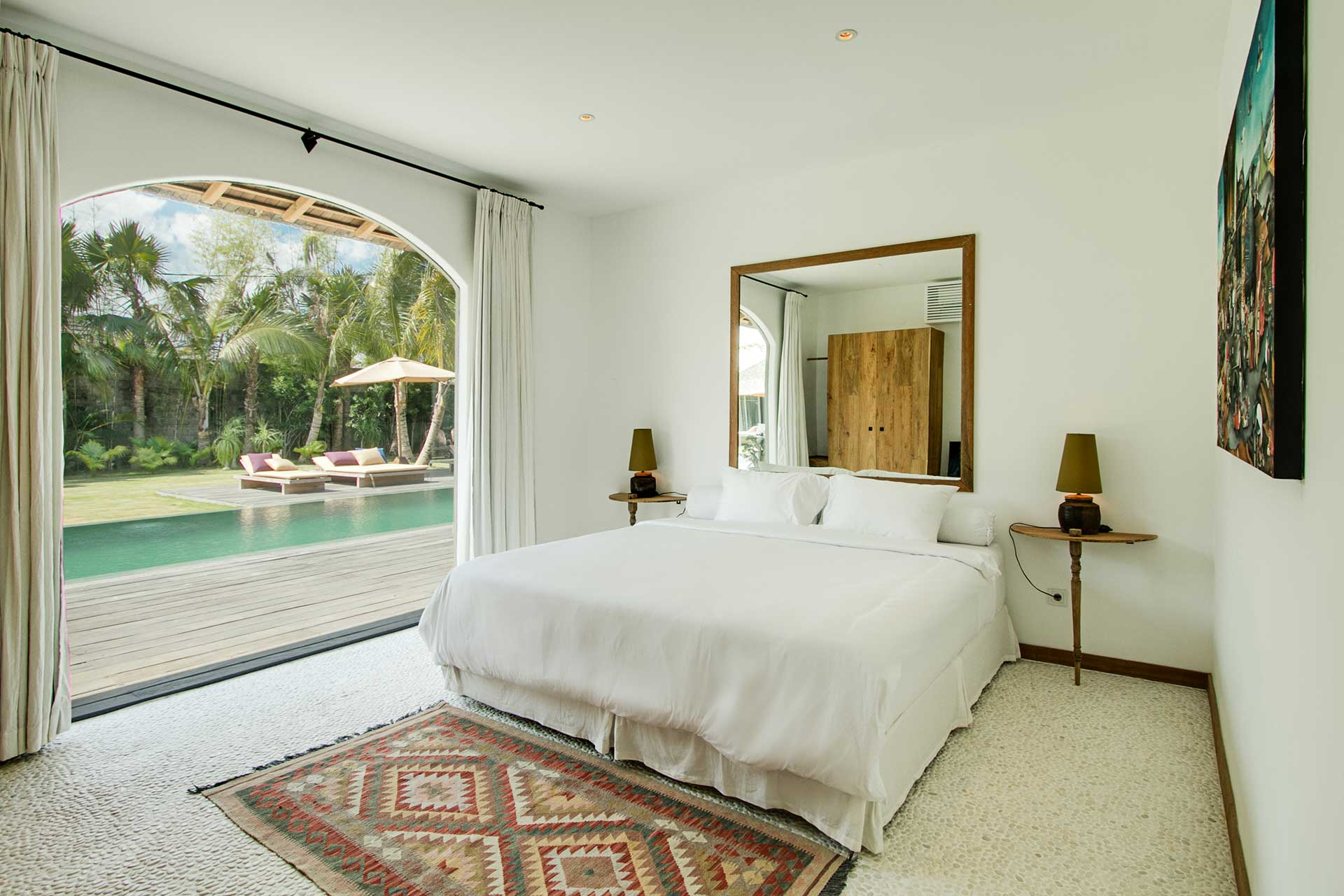 Main Villa Pool View Room