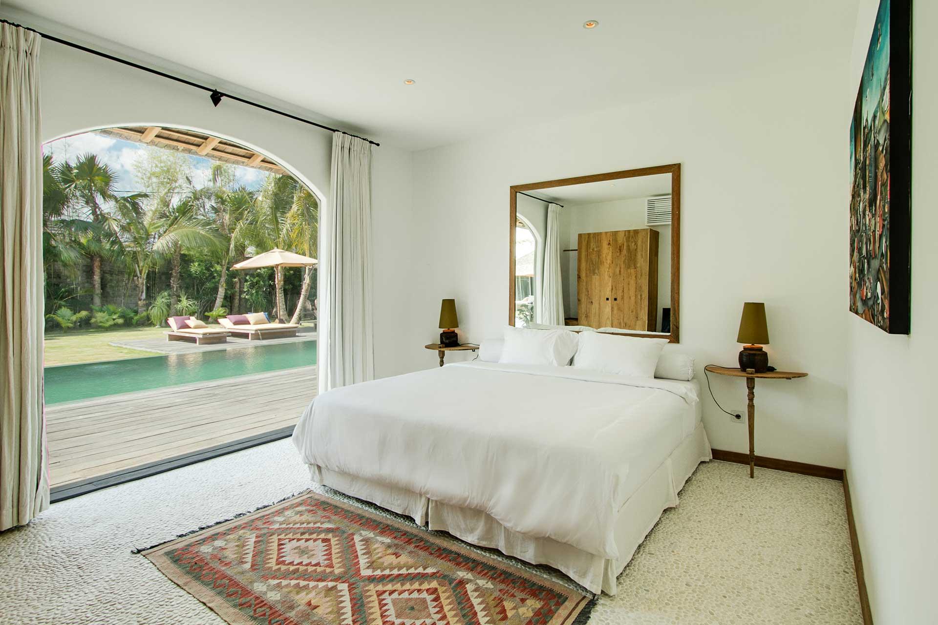 Main Villa Pool View Room