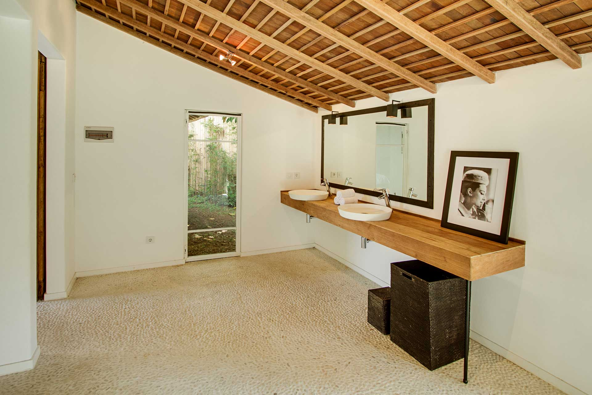 Shared bathroom in Pool House